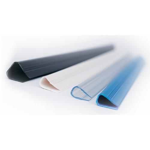 Listwy Relido: 9-12 mm (40-120 arkuszy 80 g) / przezroczysty