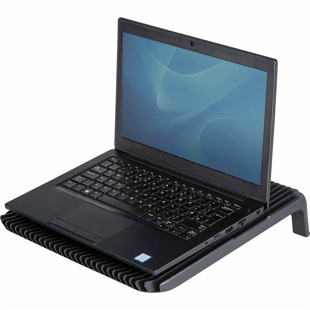 Podstawa pod notebook Maxi Cool: Czarna