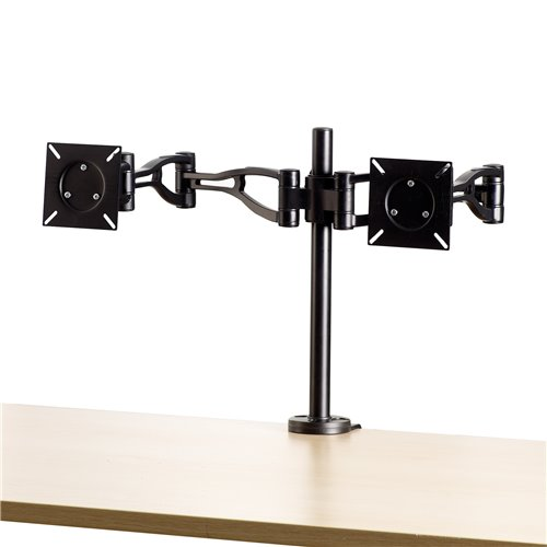 Ramię na 2 monitory Professional Series™: czarne