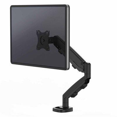 Ramię na 1 monitor Eppa™ - czarne: Czarny