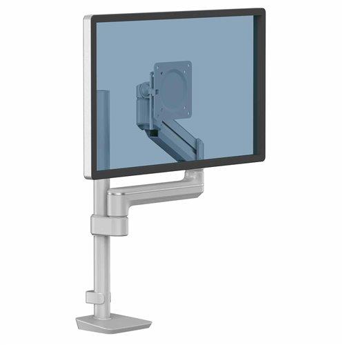 Ramię na 1 monitor TALLO Modular™ 1FM (srebrne): Srebrny