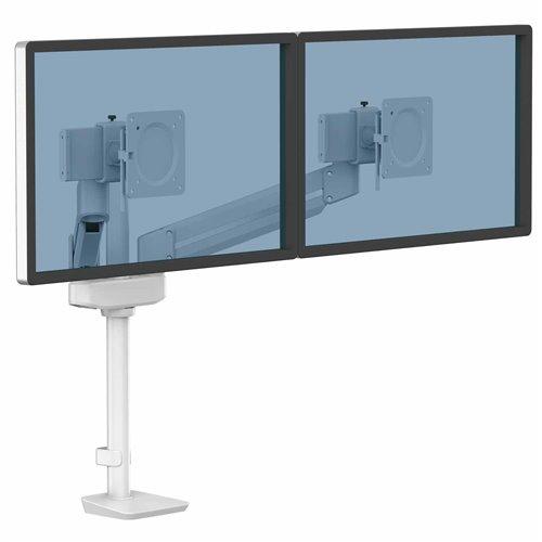 Ramię na 2 monitory TALLO Modular™ 2MS (białe): Biały