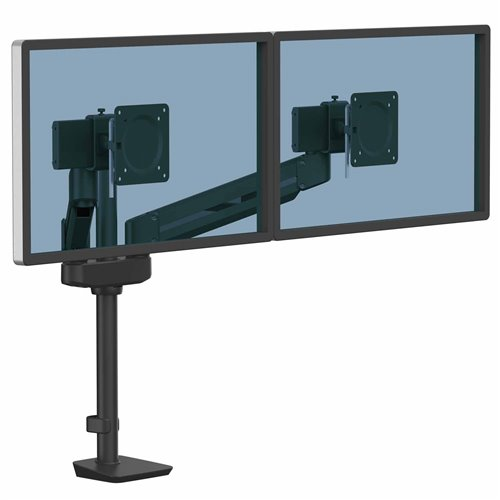 Ramię na 2 monitory TALLO Modular™ 2MS (czarne): Czarny