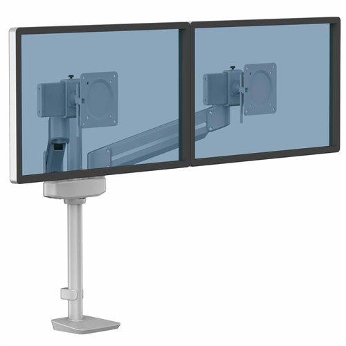 Ramię na 2 monitory TALLO Modular™ 2MS (srebrne): Srebrne