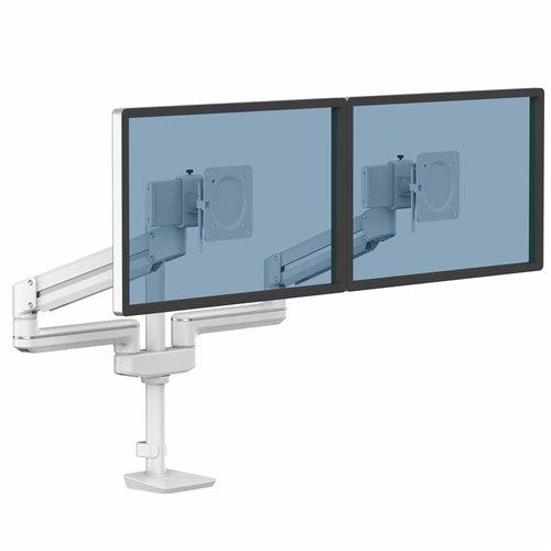 Ramię na 2 monitory TALLO Modular™ 2FMS (białe): Biały