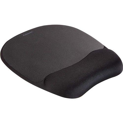 Podkładka piankowa pod mysz i nadgarstek Memory Foam: Czarna