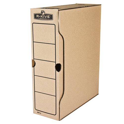 Pudełka na akta 80 i 100 mm: grzbiet 100 mm