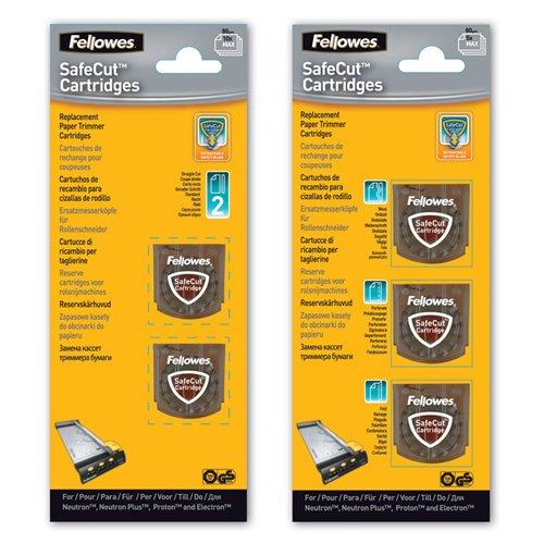 Wymienne kasety SafeCut™ do trymerów : 3 ostrza różne