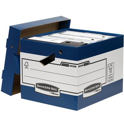 Pudło Bankers Box® ERGO-Box™ : Pudło Bankers Box ERGO-Box™