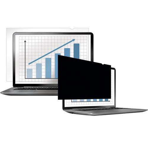 """Filtr prywatyzujący Fellowes PrivaScreen™ 14,1"""" W - panoramiczny: Filtr prywatyzujący Fellowes PrivaScreen™ 14,1"""" W"""
