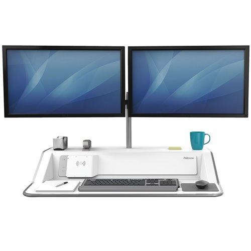 Stanowisko do pracy Sit-Stand Lotus™ DX  - białe: Białe